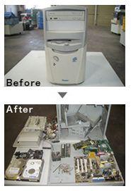 廃OA機リサイクル